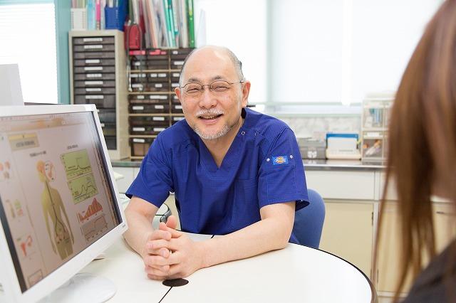 2.入院患者5000人以上を診てきた経験豊富な医師